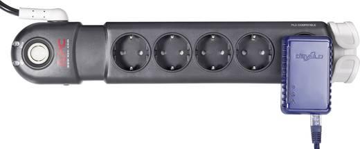 APC by Schneider Electric PL5B-DE Überspannungsschutz-Steckdosenleiste 5fach Anthrazit, Grau Schutzkontakt