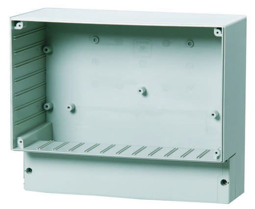 Universal-Gehäuse 257 x 219 x 122 ABS Licht-Grau (RAL 7035) Fibox ABS 25/22-C3 1 St.