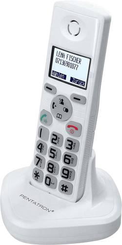Bezdrôtový dverový telefón Pentatron TF04M 34235, biela