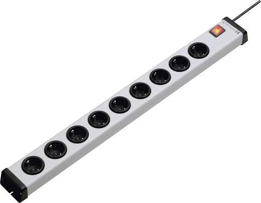 Steckdosenleiste mit Schalter 9fach Grau Schutzkontakt Ehmann 0201x00092301