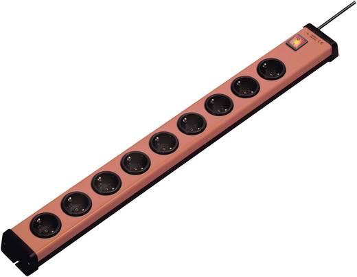 Steckdosenleiste mit Schalter 9fach Orange, Schwarz Schutzkontakt Ehmann 0201x00092g01