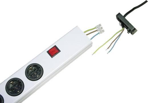 Steckdosenleiste mit Schalter 5fach Weiß ohne Stecker Ehmann 0201x00052300