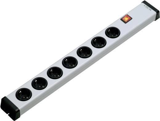 Ehmann 0201x00072300 Steckdosenleiste mit Schalter 7fach Weiß ohne Stecker
