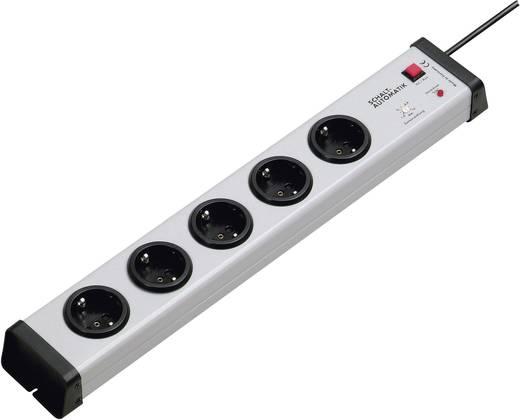 Steckdosenleiste mit Schalter 5fach Grau Schutzkontakt Ehmann 0223x00052301
