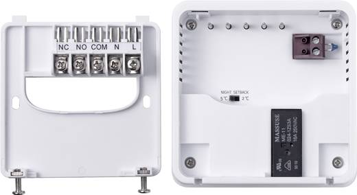 Sygonix 33988Q Raumthermostat Aufputz Tagesprogramm 5 bis 30 °C