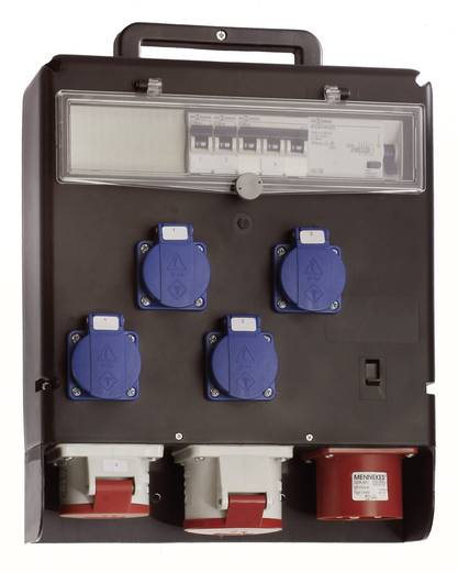 CEE Stromverteiler Stromverteiler CEE FIXO I 60511 400 V 32 A as - Schwabe