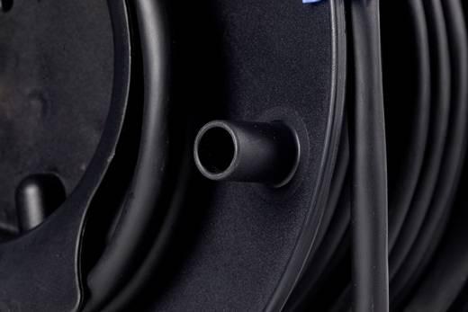 Kabeltrommel 25 m Schwarz CEE-Cara-Stecker as - Schwabe 12270