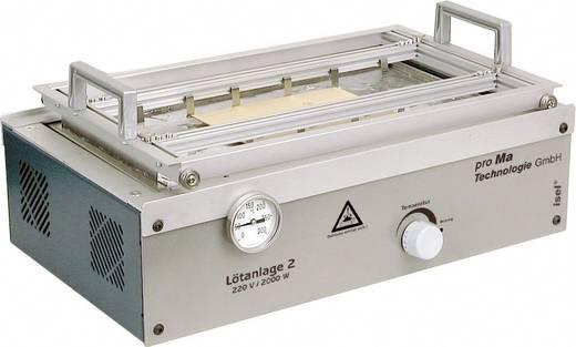 Flux- und Lötanlage Passend für Platinen bis 350 x 180 mm Proma 142021 1 St.