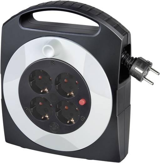 Kabeltrommel 5 m Schwarz Schutzkontakt-Stecker Brennenstuhl 1095350