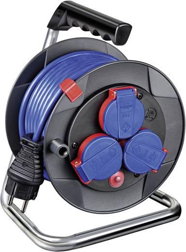 Kabeltrommel 15 m Blau Schutzkontakt-Stecker Brennenstuhl 1079850