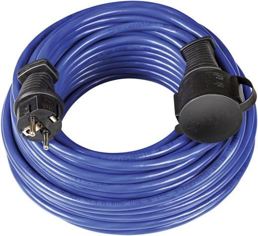 Strom Verlängerungskabel [ Schutzkontakt-Gummi-Stecker - Schutzkontakt-Gummi-Kupplung] Blau 25 m Brennenstuhl 1169820