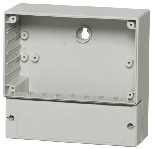 Wand-Gehäuse 166 x 160 x 80 Polycarbonat Licht-Grau (RAL 7035) Fibox PC 17/16-LC3 1 St.