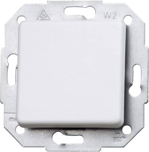 Kopp Einsatz Wechselschalter Europa Arktis-Weiß, Matt 613613082