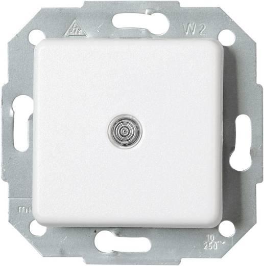 Kopp Einsatz Wechselschalter Europa Arktis-Weiß, Matt 613698083