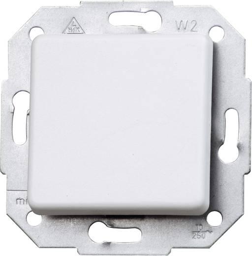 Kopp Einsatz Kreuzschalter Europa Arktis-Weiß, Matt 613713085