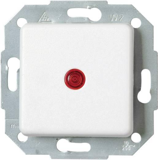 Kopp Einsatz Kontrollschalter Europa Arktis-Weiß, Matt 614613083