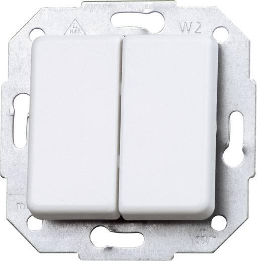 Kopp Einsatz Serienschalter Europa Arktis-Weiß, Matt 613513065