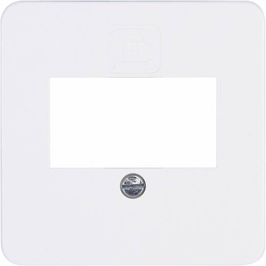 Kopp Abdeckung TAE-Steckdose Europa Arktis-Weiß, Matt 345913085