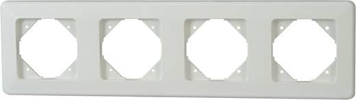 Kopp 4fach Rahmen Europa Arktis-Weiß, Matt 303413080