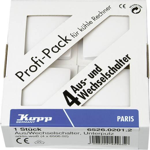 Kopp Einsatz Wechselschalter Paris Weiß 652602012