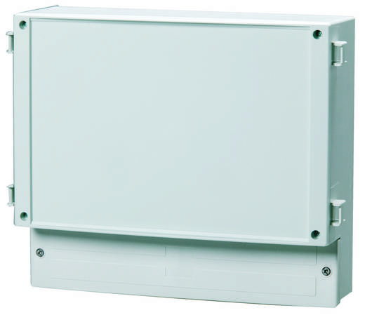 Wand-Gehäuse 314 x 260 x 110 Polycarbonat Licht-Grau (RAL 7035) Fibox PC 30/25-FC3 1 St.