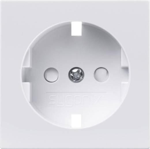Sygonix Einsatz Schutzkontakt-Steckdose SX.11 sygonixweiß, glänzend 33593Q