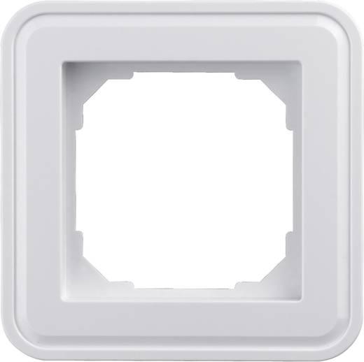 Sygonix 1fach Rahmen SX.11 sygonixweiß, glänzend 33598R