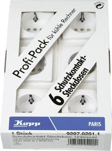 Kopp Einsatz Schutzkontakt-Steckdose Paris Weiß 920702011