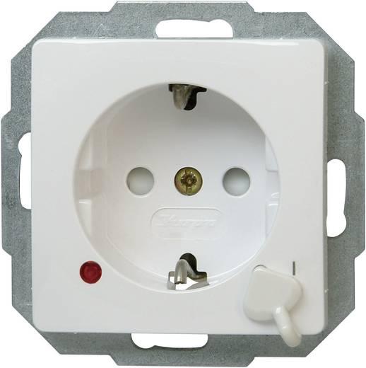 Kopp Einsatz Schutzkontakt-Steckdose Paris Weiß 136702010
