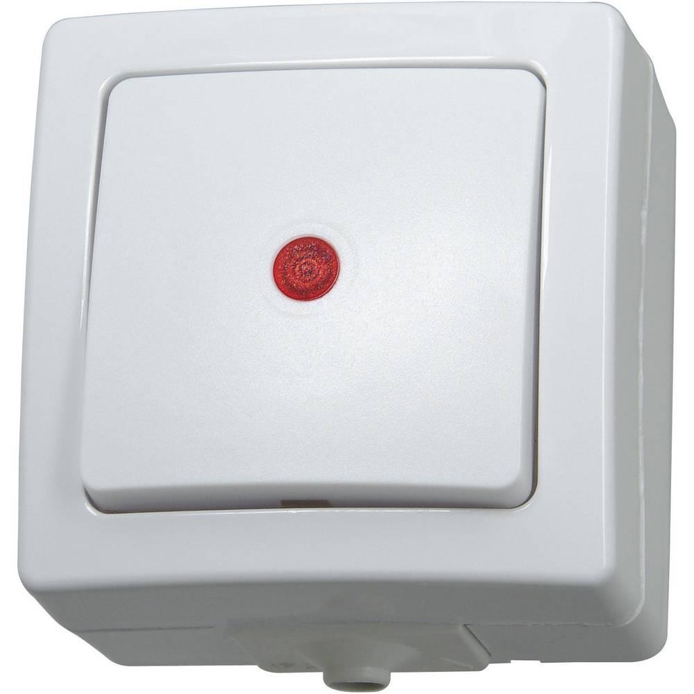 interrupteur avec t moin lumineux kopp 566602003 sur le site internet conrad 552268. Black Bedroom Furniture Sets. Home Design Ideas