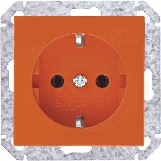 Sygonix Einsatz Schutzkontakt-Steckdose SX.11 Orange 33526A
