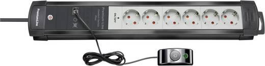 Brennenstuhl 1156050070 Steckdosenleiste mit Schalter 6fach Anthrazit, Grau Schutzkontakt