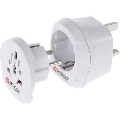 Skross 1.500231 Reiseadapter Combo World to UK Preisvergleich