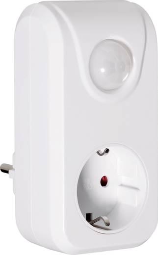 Zwischenstecker PIR-Bewegungsmelder 552445 100 ° Weiß IP20