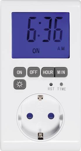 Steckdosen-Zeitschaltuhr digital Tagesprogramm GAO EMT769AET2 3680 W IP20