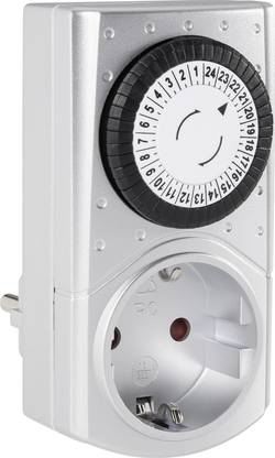 Mini spínací zásuvka s časovačem GAO Mini 0811 3680 W, IP20