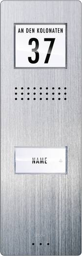 m-e modern-electronics ADV 210 Türsprechanlage Kabelgebunden Außeneinheit 1 Familienhaus Edelstahl