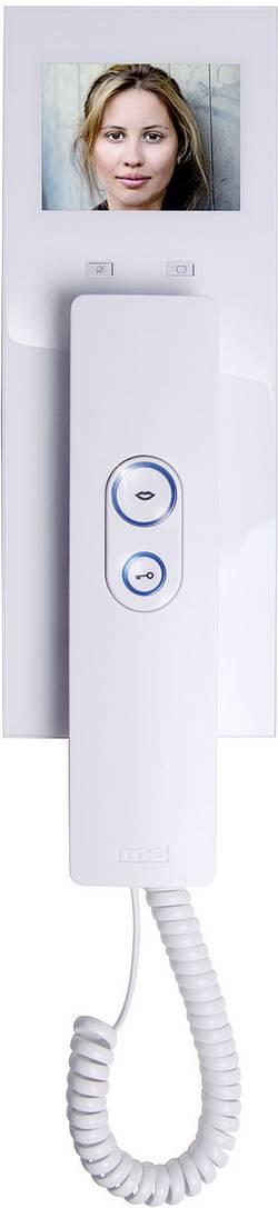 Vnitřní jednotka pro domácí videotelefon m-e VDV-505, 1 rodina, bílá