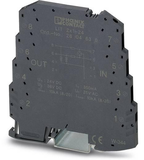 Überspannungsschutz-Ableiter 10er Set Überspannungsschutz für: Verteilerschrank Phoenix Contact LIT 2X1-24 2804636 5 kA