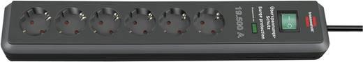 Brennenstuhl 1159540366 Überspannungsschutz-Steckdosenleiste 6fach Anthrazit Schutzkontakt