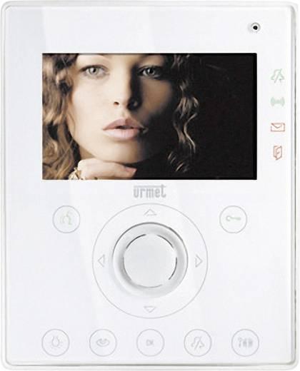 Grothe 74573 Video-Türsprechanlage Kabelgebunden Video-Inneneinheit Weiß