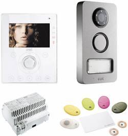 Domácí videotelefon Grothe, 74571, 1 rodina, bílá/antracit