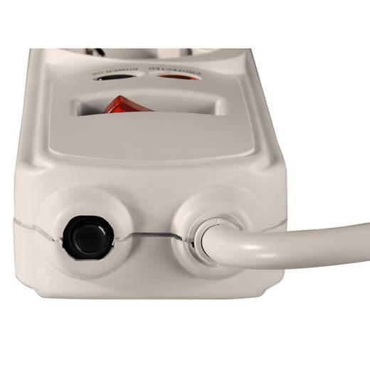 Überspannungsschutz-Steckdosenleiste 6fach Weiß Schutzkontakt Hama 00047773