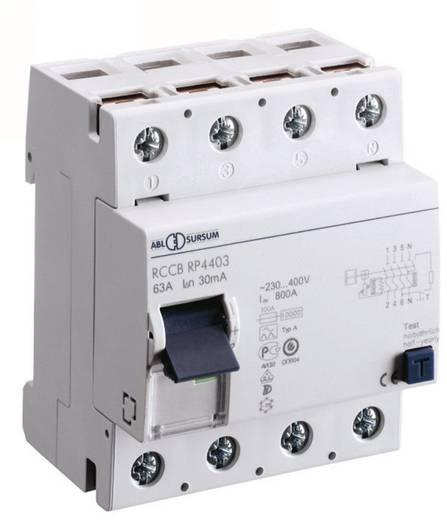 FI-Schutzschalter 4polig 63 A 0.03 A 400 V ABL Sursum RP4403