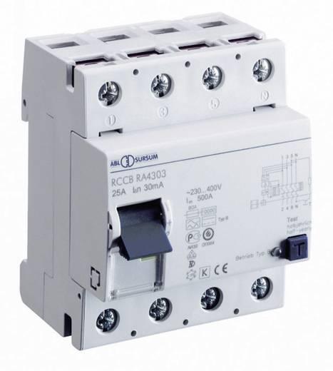 FI-Schutzschalter allstromsensitiv 4polig 40 A 0.03 A 230 V ABL Sursum RA4303