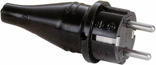 Schutzkontaktstecker Vollgummi 250 V Schwarz IP44 ABL Sursum 1429190