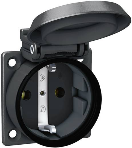 ABL Sursum 1561000 Einbau-Steckdose IP54 Schwarz kaufen