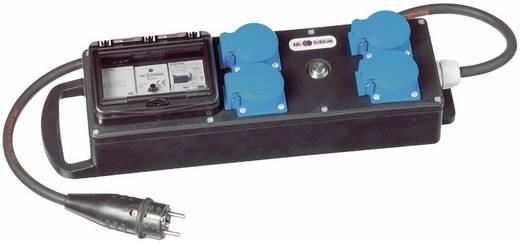 4fach Steckdosen-Verteiler ABL Sursum B480119 Schwarz, Blau