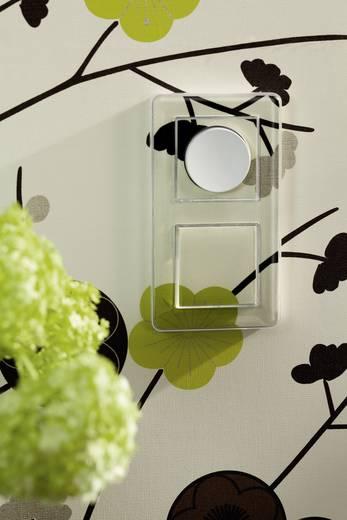 Merten Abdeckung Dimmer M-Creativ Glasklar, Polarweiß MEG5250-3500