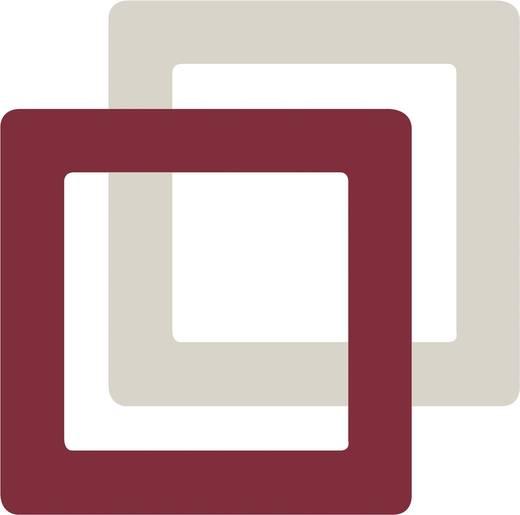 Merten 1fach Rahmen M-Creativ Transparent, Polarweiß MEG4010-3500